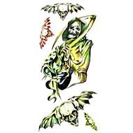 многоцветный - Прочее - Временные тату - для Женский/Girl/Взрослый/Подростки - #(1) - #(18.5*8.5) - С рисунком/Waterproof - Бумага