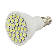 お買い得  LED スポットライト-2W 450-500 lm E14 LEDスポットライト 30 LEDの SMD 5050 装飾用 温白色 クールホワイト AC 110〜130V DC 12V
