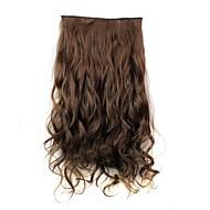 baratos -Clip Sintético Extensões de cabelo Alongamento