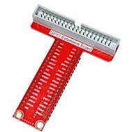 라즈베리 파이 B +에 대한 유형-T GPIO 확장 보드 액세서리 - 빨간색