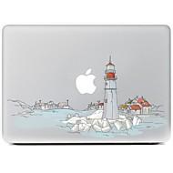 A város kialakítása dekoratív bőr matrica MacBook Air / Pro / Pro Retina kijelzővel