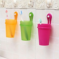 Tandbørstekrus Bruser Plastik Multi-funktion / Miljøvenlig / Gave