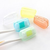 Food Grade Material Travel Toothbrush Container/Protector Waterproof Portable Antibacterial Toiletries Mini Size