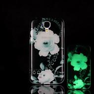 цветочный узор светятся в темноте Футляр для Samsung Galaxy S4 мини i9190