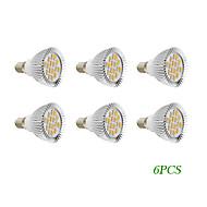 E14 GU10 LED Spotlight 16 leds SMD 5730 Warm White Cold White 280lm 2500-3500K AC 220-240 AC 110-130V