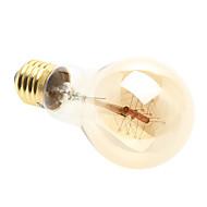 billige Glødelamper-1pc 4W 200-260 lm E26/E27 LED-globepærer 1 leds Varm hvid AC 220-240V