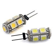 お買い得  LED コーン型電球-G4 0.86ワットの9x5050のSMD 94lmの白白色光がビンピンタワー12V AC(10pieces)を率い警告
