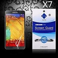 HD экран протектор с пыле-поглотителя для Samsung Galaxy Примечание 3 (7 шт)