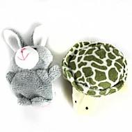 halpa Harrastukset-Rabbit Animal Sorminuket Käsinuket Cute Lovely Erikois Cartoon Puuvilla Plyysi Tyttöjen Poikien Lahja