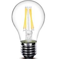 E26/E27 Izzószálas LED lámpák G60 4 led COB Tompítható Dekoratív Meleg fehér 440lm 2800-3200K AC 220-240V