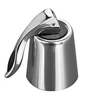 Edelstahl-Mehrweg Vakuum versiegelt Rotweinflaschenstopper Kappe Stecker