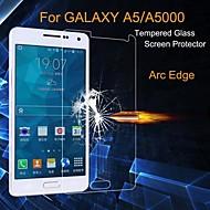 お買い得  Samsung 用スクリーンプロテクター-スクリーンプロテクター Samsung Galaxy のために A5 強化ガラス 1枚 ハイディフィニション(HD)