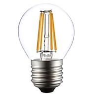 abordables ONDENN-1pc 2800-3200 lm E26/E27 Bombillas de Filamento LED G45 4 leds COB Blanco Cálido AC 220-240V