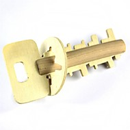 juguete del rompecabezas apertura de la llave de madera