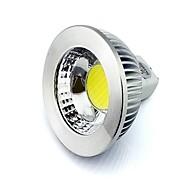 お買い得  LED スポットライト-GU5.3 MR16 5ワット510lm主導COBチップ白い暖かい白ダウンライト12VのAC / DC 90ビーム角アルミシェルランプ