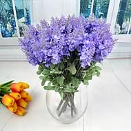 İpek / Plastik Açık Mavi Yapay Çiçekler