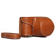 Dengpin® PU Leather Oil Skin Detachable Camera Case for Sony Alpha A5100 A5000 ILCE-5100L NEX-3N 3NL