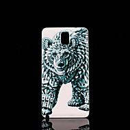 Для Samsung Galaxy Note С узором Кейс для Задняя крышка Кейс для Животный принт PC Samsung Note 3