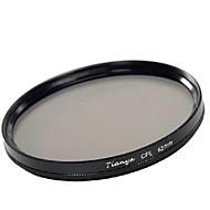 tianya 62mm CPL filtro polarizador circular para pentax 18-135 18-250 Tamron 18-200mm lente