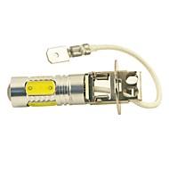 お買い得  -SO.K 1個 H3 車載 電球 11W COB 5 フォグライト