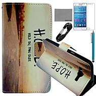 のために カードホルダー / ウォレット / スタンド付き / フリップ / パターン ケース フルボディー ケース ワード/文章 ハード PUレザー Samsung Grand Prime