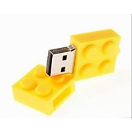 4gb usb disk toy bricks cartoon usb 2.0 флеш-накопитель