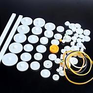 75 soorten plastic reductiemotor versnelling robot onderdelen diy model kit