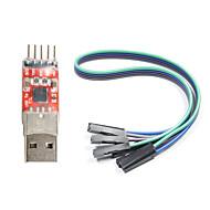 お買い得  Arduino 用アクセサリー-(Arduinoのための)のTTLコンバータモジュールへのCP2102のUSB(公式(Arduinoのための)ボードで動作します)