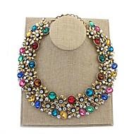 Женский Ожерелья-бархатки В форме цветка Сплав Цветочный дизайн Цветы Мода европейский Цветочный принт Бижутерия Назначение