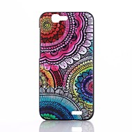 Multicolor Mandala Flower Pattern PC Hard Back Cover Case for Huawei Ascend G7