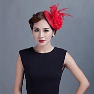 abordables Tocados-mujeres wedding party sinamay pluma fascinators sfc02062 estilo elegante