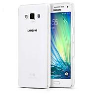 Недорогие Чехлы и кейсы для Galaxy A8-Кейс для Назначение SSamsung Galaxy Кейс для  Samsung Galaxy Ультратонкий Прозрачный Кейс на заднюю панель Сплошной цвет ТПУ для A5(2016)