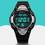 Недорогие Фирменные часы-SKMEI Муж. Спортивные часы / Наручные часы / электронные часы Будильник / Календарь / Cool Pезина Группа Мода Черный / Синий / Розовый / Два года / Maxell626 + 2025