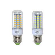 お買い得  LED コーン型電球-1152 lm E26/E27 LEDコーン型電球 T 48 LEDの SMD 5730 温白色 クールホワイト AC 220-240V