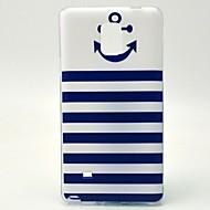 Для Samsung Galaxy Note С узором Кейс для Задняя крышка Кейс для Якорь TPU Samsung Note 4