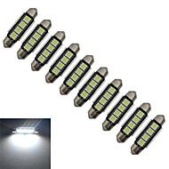 Χαμηλού Κόστους Άλλα φωτιστικά LED-80-90 lm Festoon Διακοσμητικό Φως 4 leds SMD 5050 Ψυχρό Λευκό DC 12V