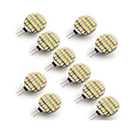 Χαμηλού Κόστους LED Φώτα με 2 pin-10pcs 3W 300-400 lm G4 LED Φώτα με 2 pin 24 leds SMD 3528 Θερμό Λευκό Ψυχρό Λευκό 2700-3500/6000-6500K AC 12V