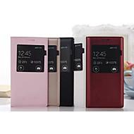 Χαμηλού Κόστους Θήκες / Καλύμματα Galaxy A Series-tok Για Samsung Galaxy Samsung Galaxy Θήκη με παράθυρο Ανοιγόμενη Πλήρης Θήκη Συμπαγές Χρώμα PU δέρμα για A5