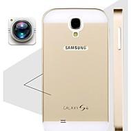 Specjalna konstrukcja jednolity kolor metalu tylną pokrywę i zderzak dla Samsung Galaxy S4 i9500