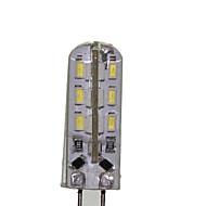 G4 LED-maïslampen T 24 leds SMD 3014 Decoratief Warm wit Koel wit 180-220lm 3000-3500 600-6500K DC 12 AC 220-240 AC 12V