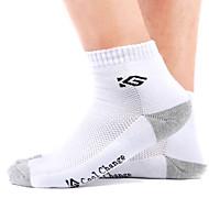 靴下 バイク 高通気性 バクテリア対応 男性用 コットン クールマックス