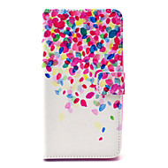 For Wiko Case Card Holder / Wallet / with Stand / Flip / Pattern Case Full Body Case Flower Hard PU Leather Wiko