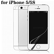 HD Film Double Mask Phone Film for iphone5/5S iPhone SE/5s/5c/5 Screen Protectors
