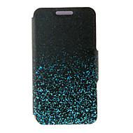Недорогие Чехлы и кейсы для Galaxy A8-Кейс для Назначение SSamsung Galaxy Кейс для  Samsung Galaxy Бумажник для карт со стендом Флип Магнитный С узором Чехол Градиент цвета