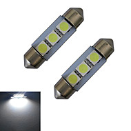 abordables Otras Luces LED-60 lm Festón Luces Decorativas 3 leds SMD 5050 Blanco Fresco DC 12V