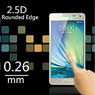 высокое качество 2.5d закругленный край 0,26 мм взрывозащищенный закаленного стеклянный экран фильма протектор для Samsung Galaxy A3