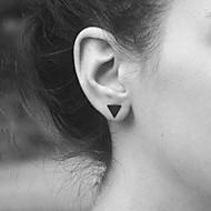 Χαμηλού Κόστους -Κουμπωτά Σκουλαρίκια Σκουλαρίκια κυρίες Ευρωπαϊκό Μοντέρνα Κοσμήματα Μαύρο / Ασημί / Χρυσαφί Για Καθημερινά Causal