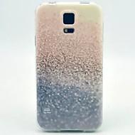 Varten Samsung Galaxy kotelo Kuvio Etui Takakuori Etui Kiiltävä TPU Samsung S5 Mini