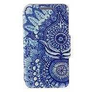 Для Кейс для Huawei / P8 / P8 Lite Бумажник для карт / со стендом / Флип Кейс для Чехол Кейс для Мандала Твердый Искусственная кожа Huawei
