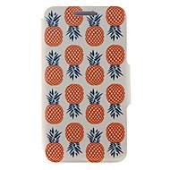 Для Кейс для Huawei / P8 / P8 Lite Бумажник для карт / со стендом / Флип Кейс для Чехол Кейс для Фрукт Твердый Искусственная кожа Huawei